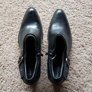 Bandolino heel buckle shoes 7.5 booties
